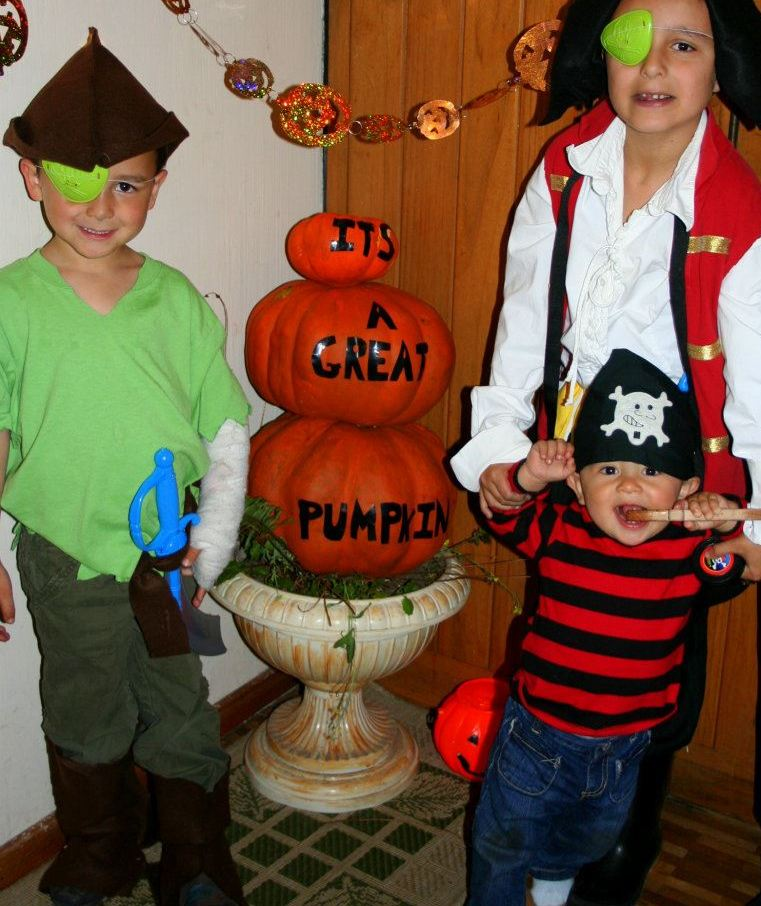 sc 1 st  Inspired by Family & No Sew Costume for Kids: Peter Pan