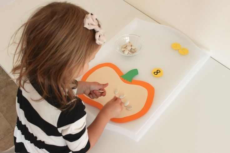 pumpkin seed counting game