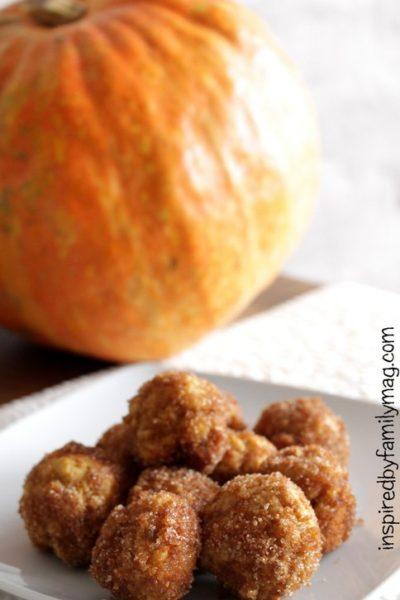 Pumpkin Donut Holes Recipe (Healthier)