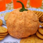 Pumpkin Cheese Ball & Halloween Party Fun