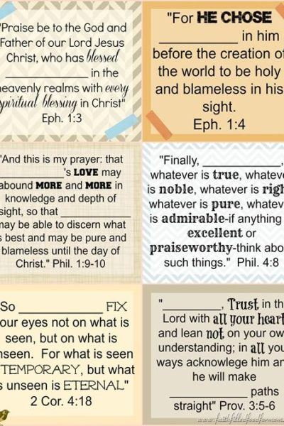 40 + Prayers For Our Children Printables