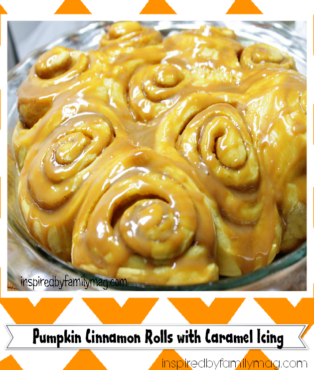 pumpkin cinnamon rolls recipe