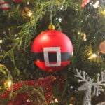 Easy DIY Santa Ornament