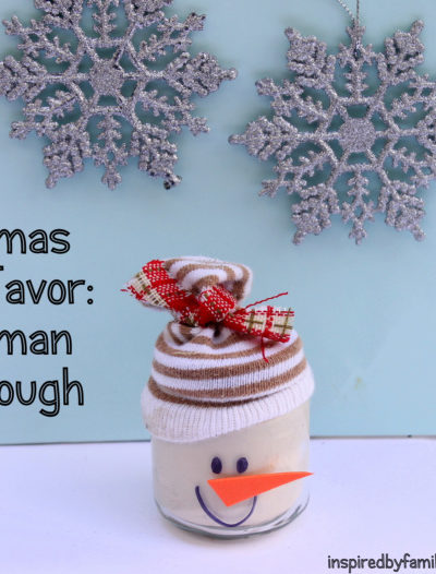 Snowman Play Dough Recipe