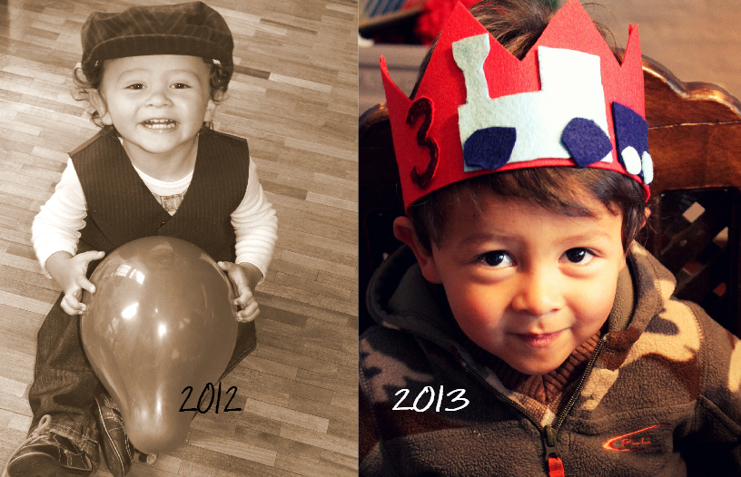 mateo 2 & 3 years old