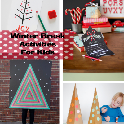 Winter Break Activities for Kids – I'm Bored Ideas