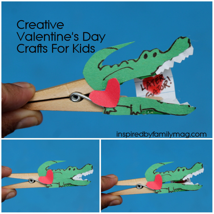 Creative valentine 39 s day card craft for kids for Creative valentine day cards