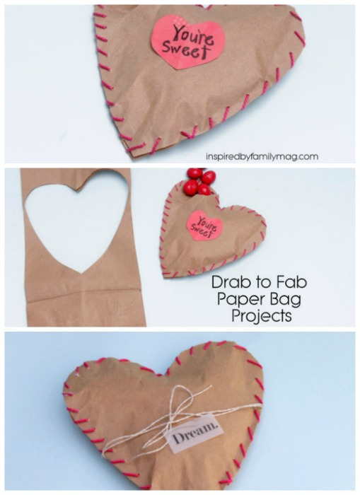 diy valentine's day treat favors: sewn with love, Ideas