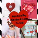 30 Days of Play Challenge – 10 Valentine's Day Crafts & Activities for Kids