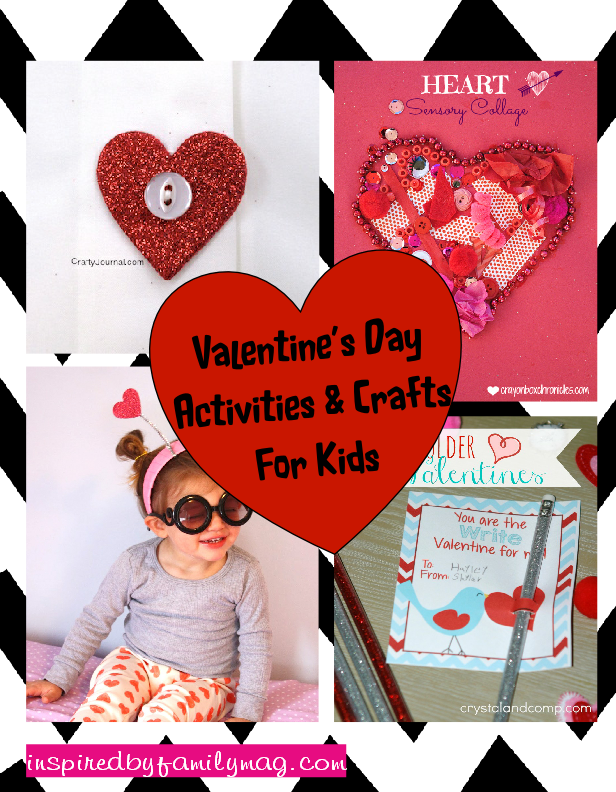 valentines day crafts & activities for kids