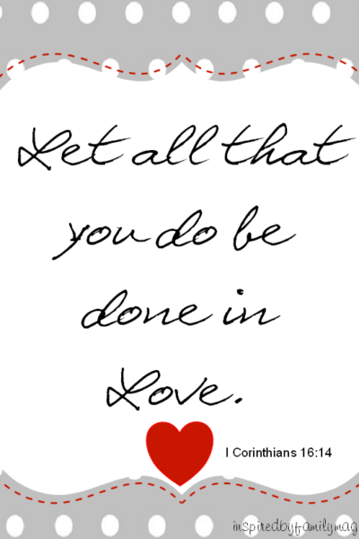 Valentine's Day Quote Printable (FREE)