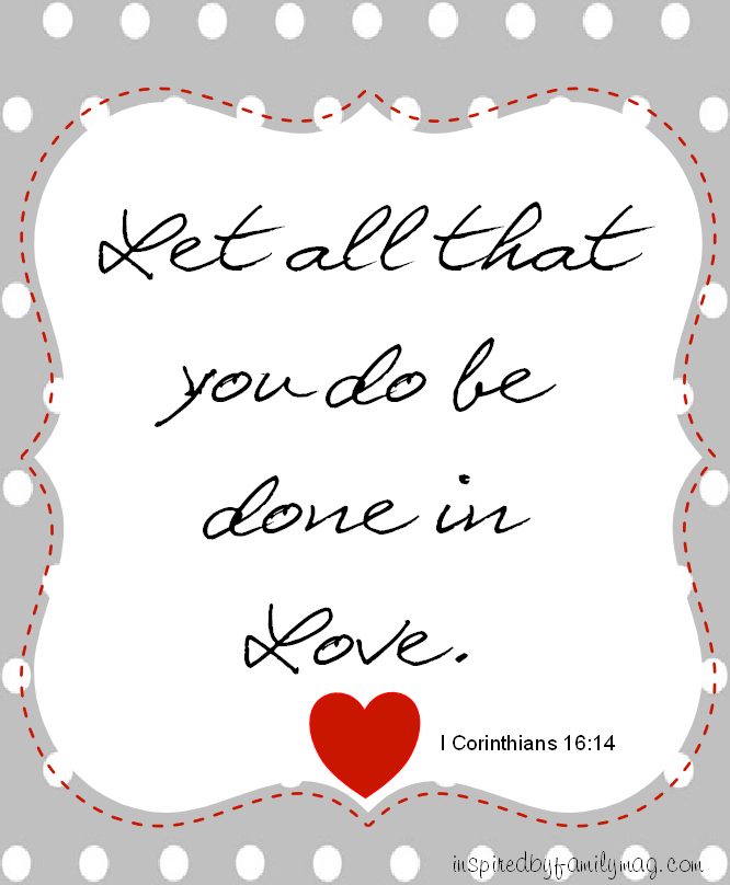 Free Printable Valentine S Quote: Valentine's Day Quote Printable (Free