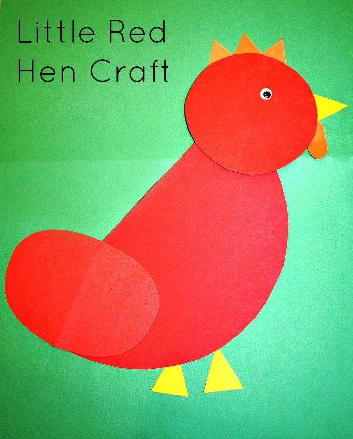 Little-Red-Hen-Craft