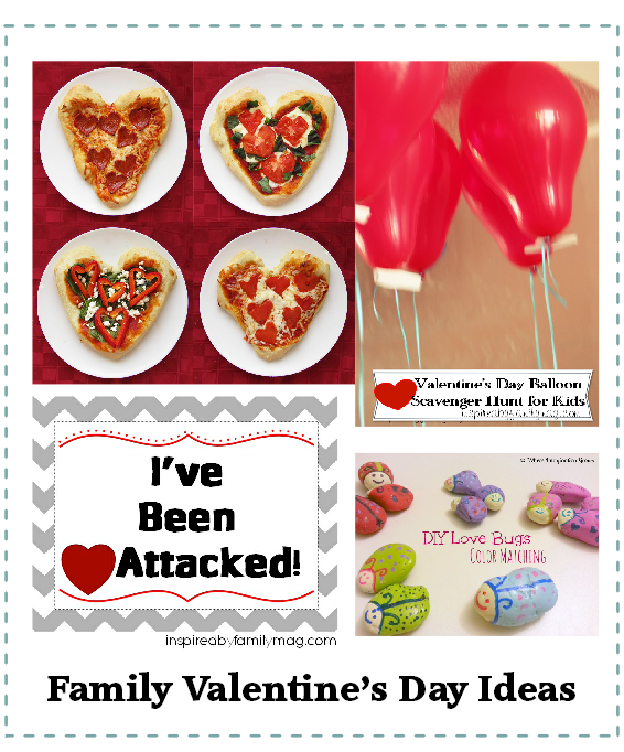 family valentines day ideas