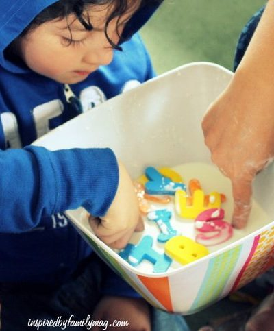 Oobleck Recipe & Letter Learning