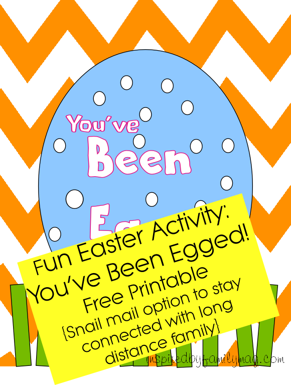 photo regarding You've Been Egged Printable named Easter Game: Youve Been Egged Game with snail deliver