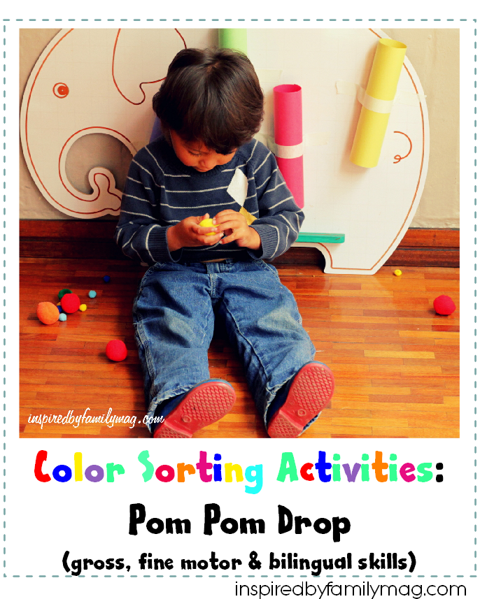 color sorting activities