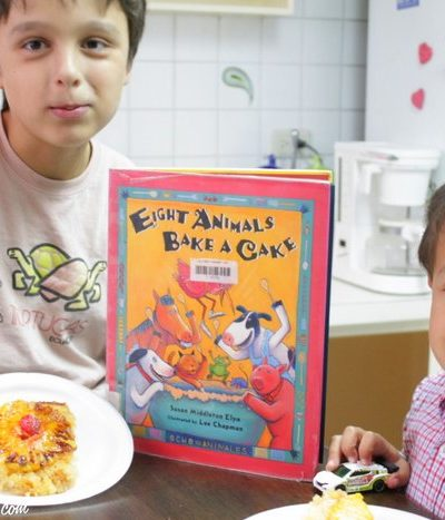 Cooking & Teaching Your Kids Spanish with Children's Books