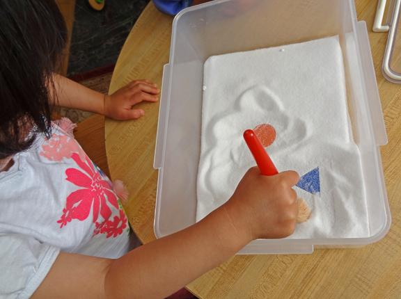 salt box sensory bin