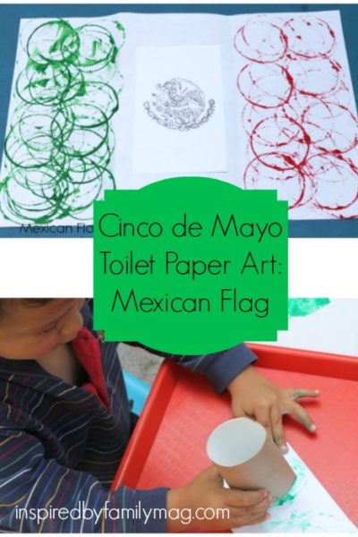 Cinco De Mayo Activity: Mexican Flag Art