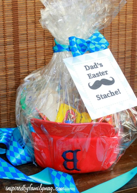 Easter basket gift idea dads easter stache easter basket gift idea negle Images