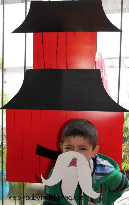 Lego Ninjago party activity
