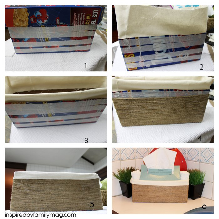 cereal box craft