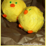 Spring Cookie Balls: Easter Chicks