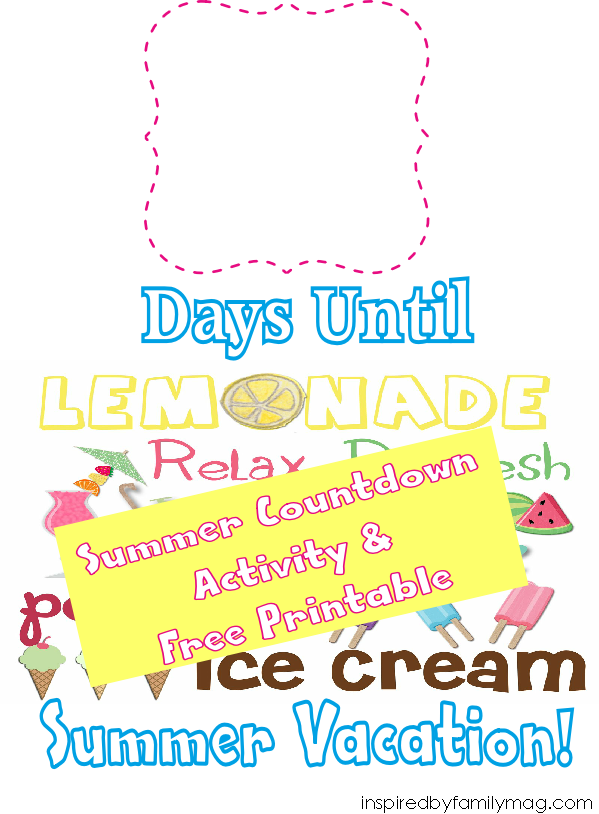 summer countdown activity