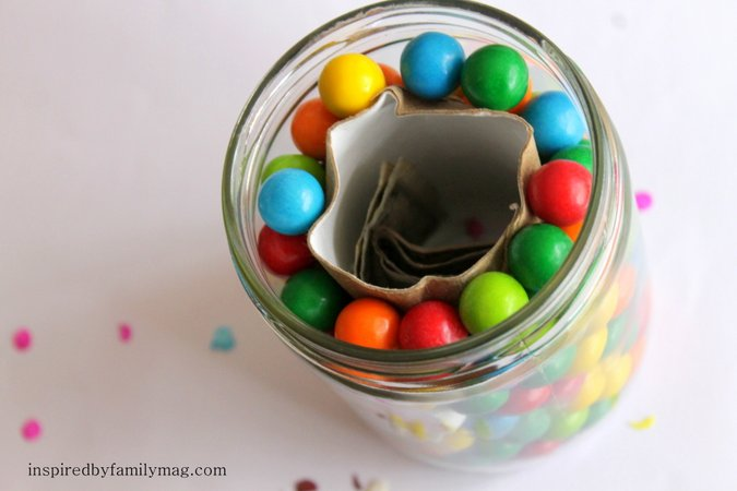 bubble gum money jar gift