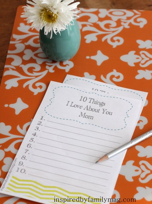 mothers day activity
