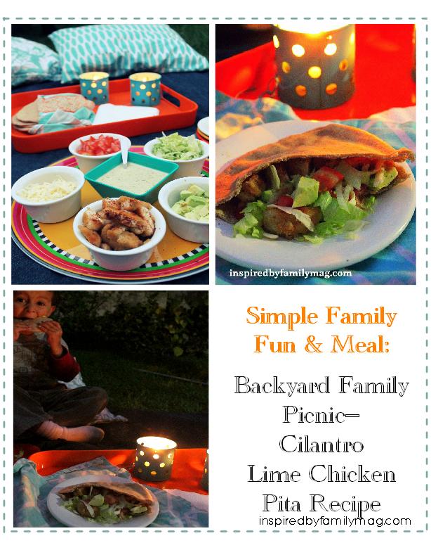 backyard family picnic idea