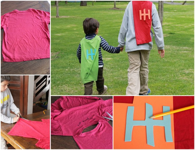 diy Superhero cape