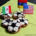 Soccer Ball Rice Krispie Treats