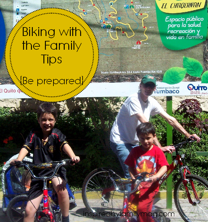 biking with the family tips