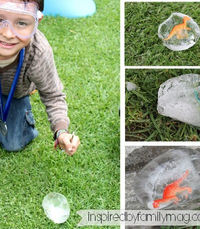 Dinosaur Activity: DIY Excavation & Hatching Egg
