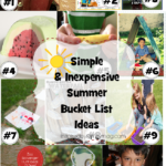 Simple & Inexpensive Summer Bucket List Ideas