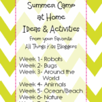 Summer Camp at Home: Animal Activities & Snacks