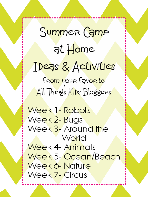 summer camp ideas & activities