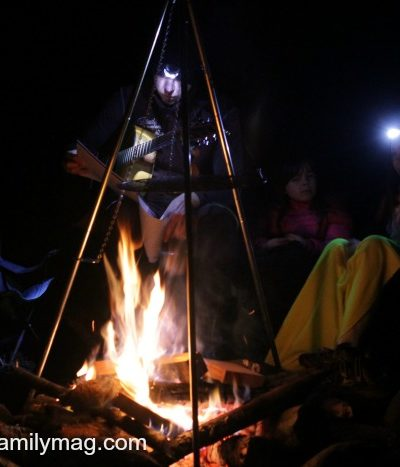Camping Hacks: Campfire Fire Bombs & Upside Down Campfire