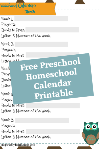 Mommy & Me Preschool {16 Weeks of Homeschool}