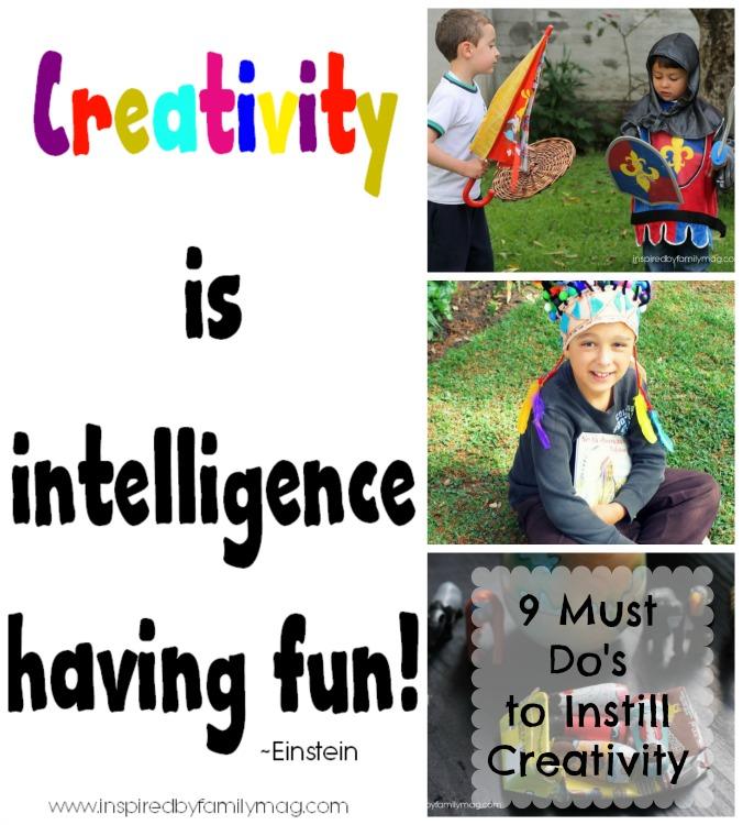 instilling creativity in our children