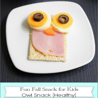 Fun Fall Snack for Kids: Olive Owls
