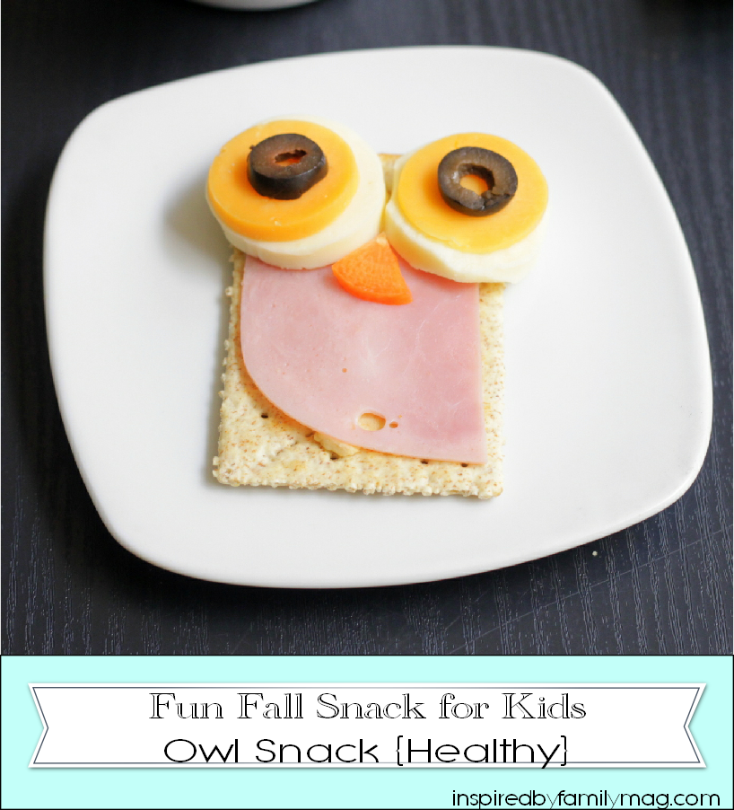 owl snack for kids