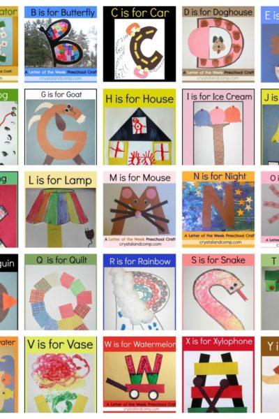 Activities for Homeschooling Your Preschooler or Toddler
