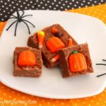 Halloween Chocolate Fudge