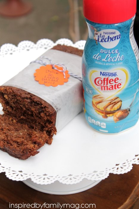 dulce de leche chocolate banana bread