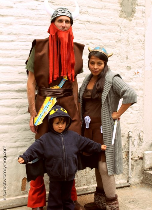 viking family halloween costume