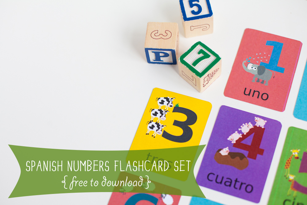 Number-Flashcards-Spanish