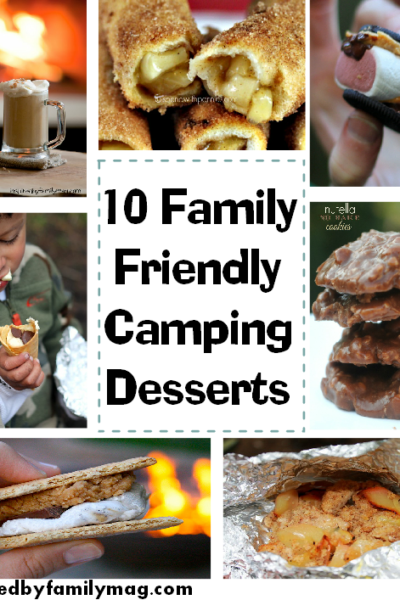 10 Family Friendly Fall Campfire Desserts